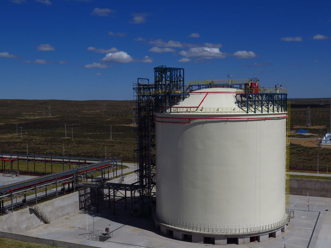 Industry Cryogenic LNG Storage Tanks 20000m3 Vertical And Horizontal Type