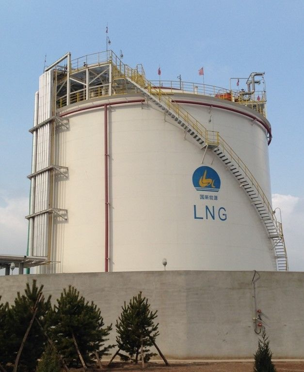 Cryogenic Engineering LNG Liquefaction Plant Single Containment Tank